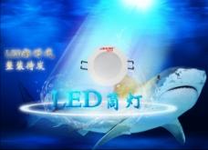 LED筒灯PSD源文件下载