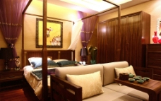 中式婚房图片