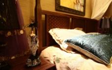 中式床头图片