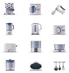 厨房电器图标