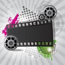 电影元素背景
