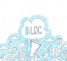 博客草图背景