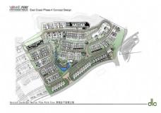 24.台地住宅景观设计案例-万科东海岸四期概念设计方案