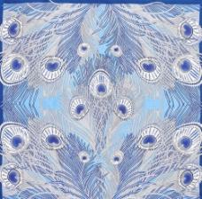 孔雀羽毛底纹图片