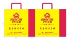 诺贝尔城手提袋图片