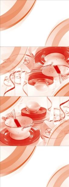 餐巾包装设计图片