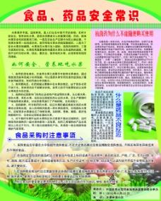 食品药品安全常识海报