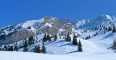 雪山高清大图图片
