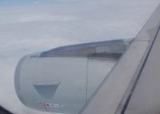 民航飞机发动机图片
