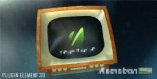 老电视照片展示模板