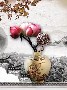 中国风广告图片
