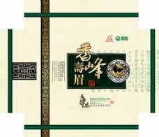 香峰寿眉茶包装