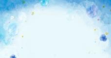 蓝色渲染背景图图片