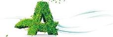 清新健康绿色背景
