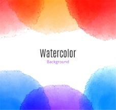 创意水彩背景矢量素材