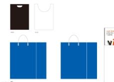 手提袋背心袋设计图片