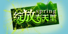 绽放 春天 绿色