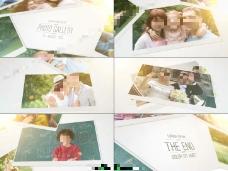 温暖明亮的家庭纪念册AE模板