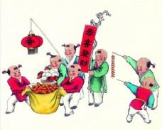 功名富贵中国年画