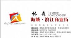 投资管理贸易类 名片模板 CDR_2631