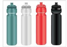 彩色时尚水瓶设计