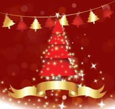 装饰圣诞节树素材