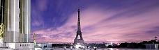 巴黎铁塔banner创意设计