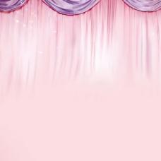 粉色浪漫温馨背景
