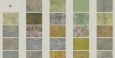 绿色石块石材地面图片