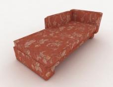 花纹躺椅沙发3d模型下载