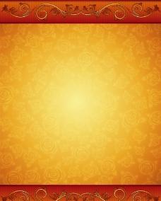 黄色玫瑰底纹背景图片
