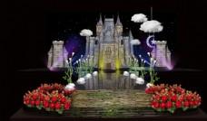 城堡婚礼图片