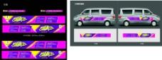 汽车车身海报图片