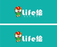 绘画logo图片