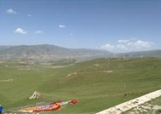 车上远拍西藏景色图片