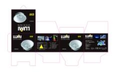 LED灯包装设计