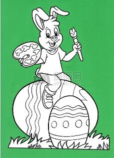 一只可爱的兔子