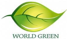 国外树叶创意logo矢量格式