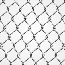 银色铁丝网背景矢量素材