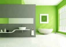 简约欧式风格卫浴家装设计图片