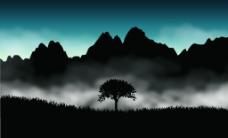 山间云雾图片