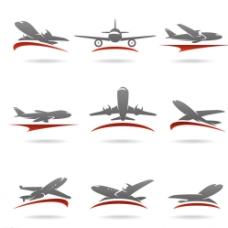 飞机LOGO设计图片