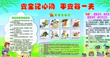 幼儿园安全版面图片