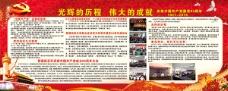 七一建党节94周年宣传展板psd