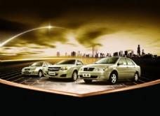 远景汽车广告海报设计PSD分层素材