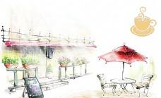 咖啡馆素材图片