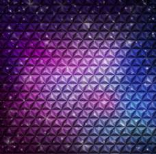 紫色立体抽象背景图片