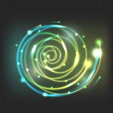 螺旋形 光效 背景