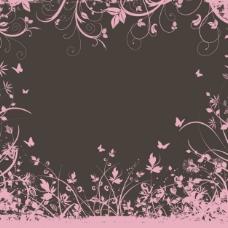 装饰花的背景