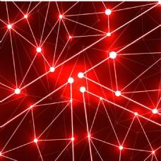 精美酷炫三角形光线效果矢量图背景素材